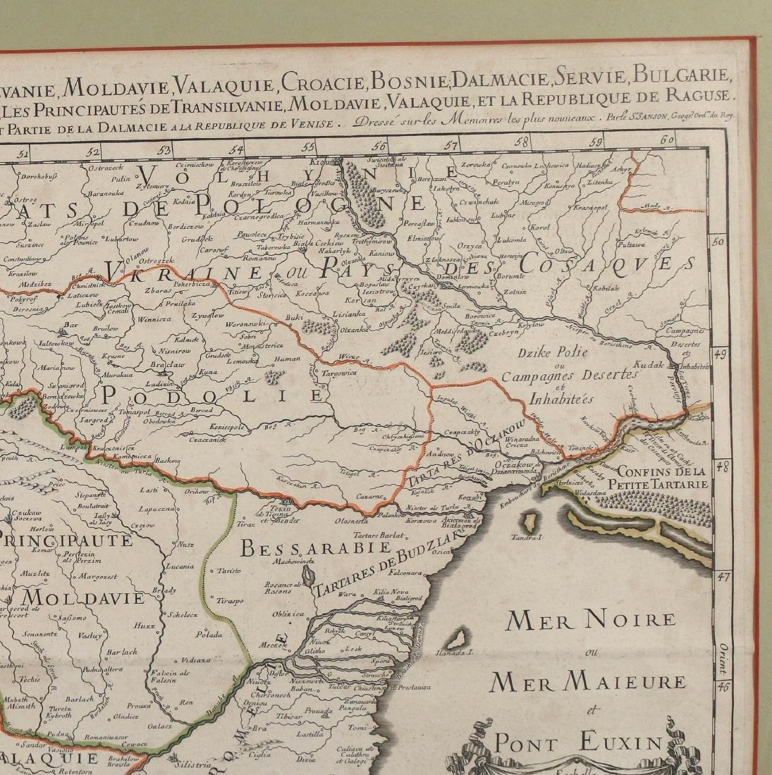 [JAILLOT] MAP OF HUNGARY & SURROUNDINGS - 4