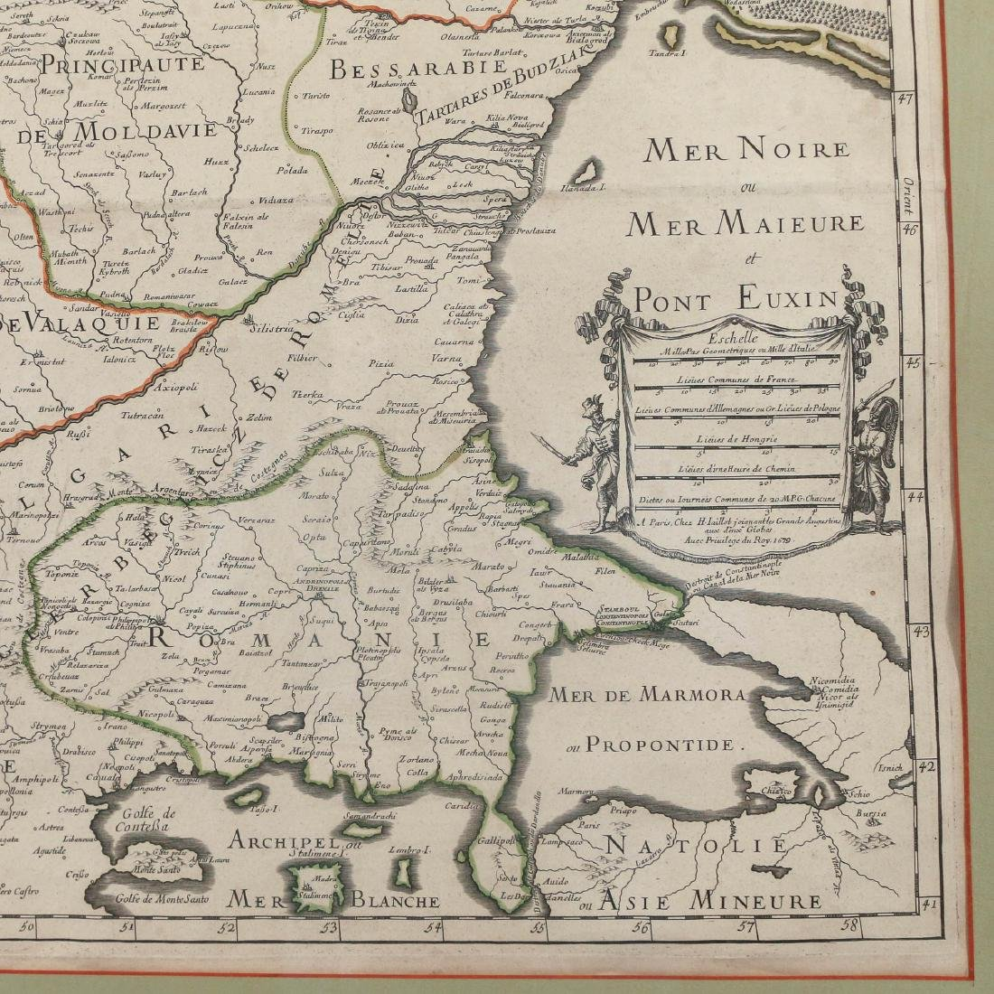 [JAILLOT] MAP OF HUNGARY & SURROUNDINGS - 5