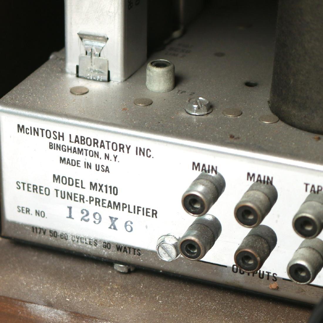 McINTOSH STEREO TUNER PRE-AMPLIFIER - 6
