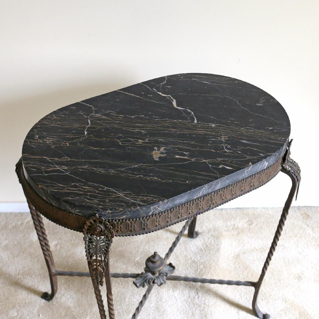 ITALIAN GILT ORMOLU SIDE TABLE - 2