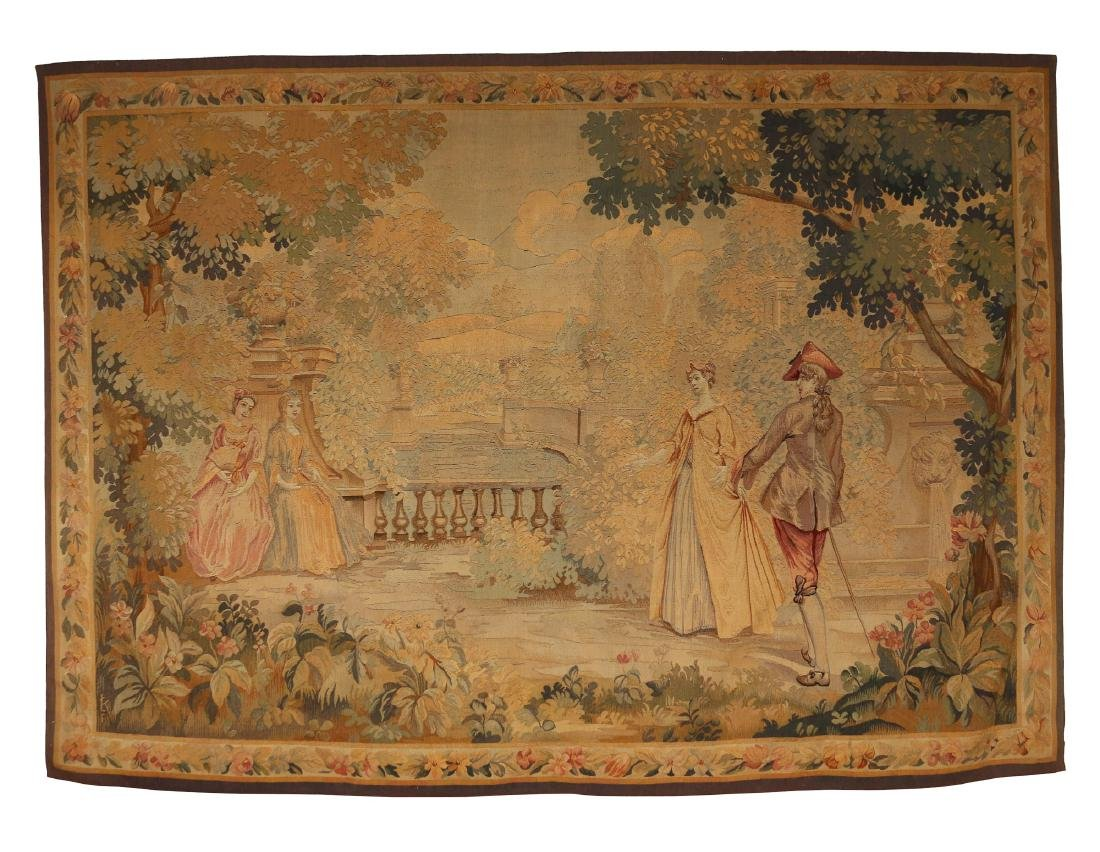 19th C. AUBUSSON TAPESTRY
