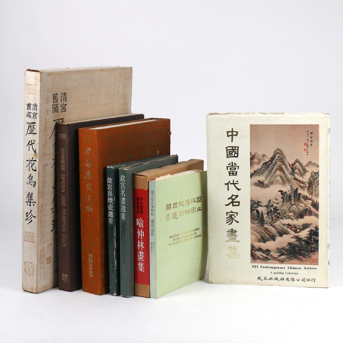 (8vol) CHINESE REFERENCE BOOKS