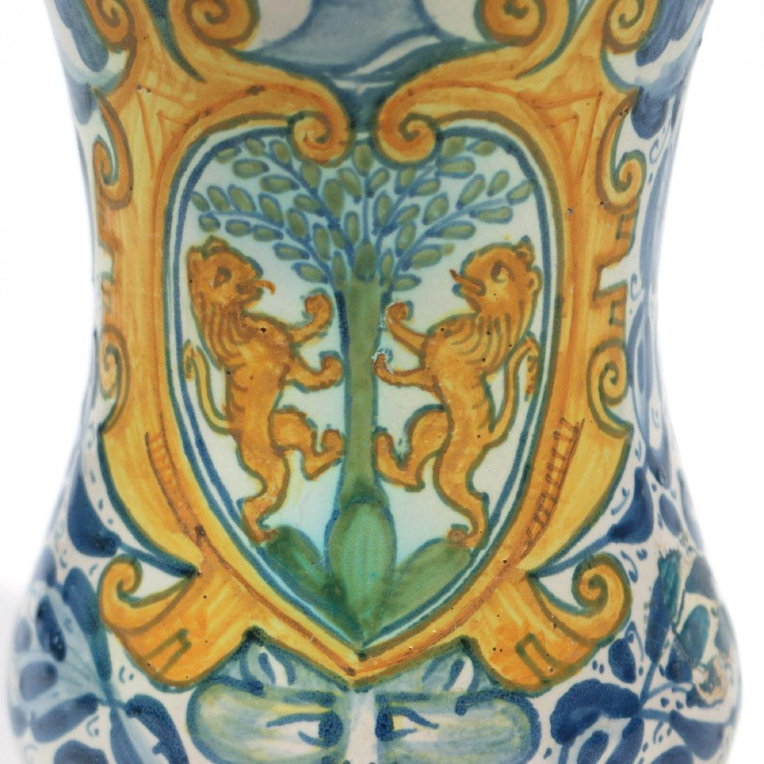 EARLY ITALIAN MAIOLICA APOTHECARY JAR - 4