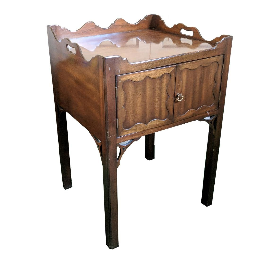 (2pc) 20th CENTURY BEDSIDE TABLES - 3
