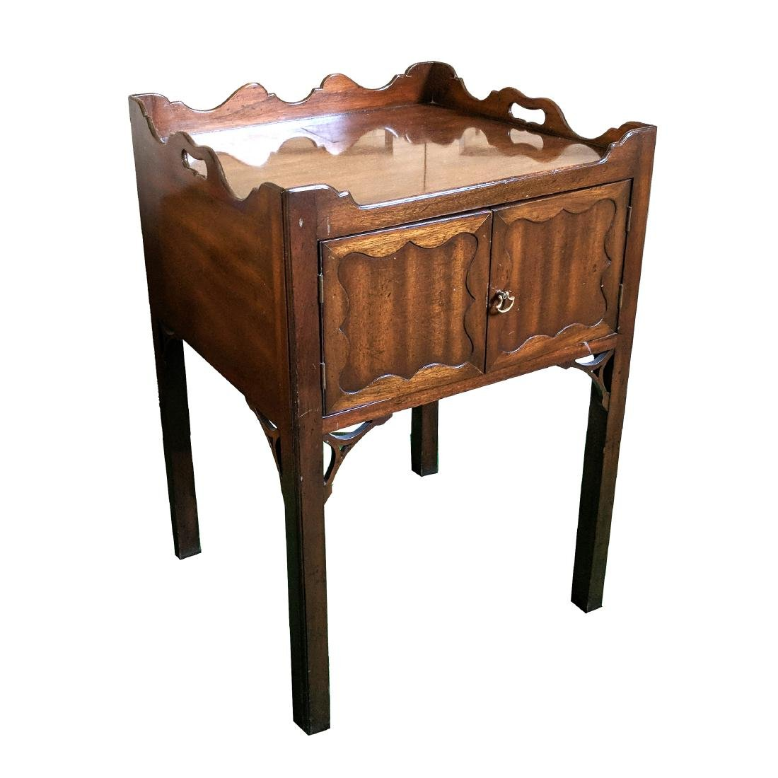 (2pc) 20th CENTURY BEDSIDE TABLES - 4