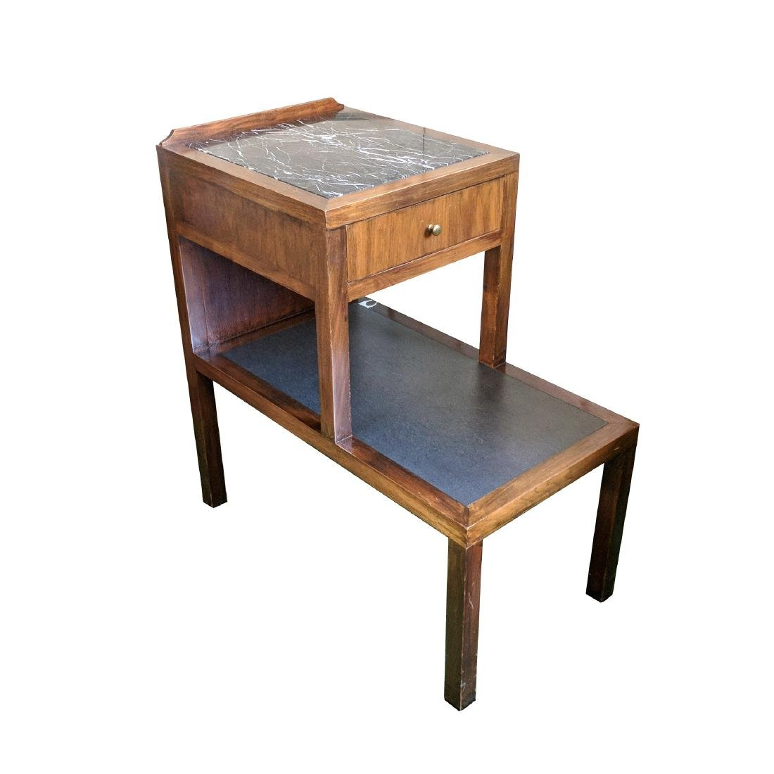 (2pc) 20th CENTURY BEDSIDE TABLES - 5