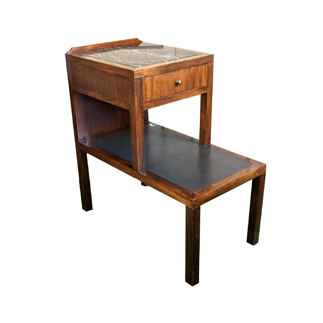 (2pc) 20th CENTURY BEDSIDE TABLES - 6