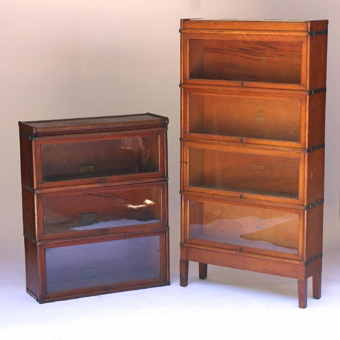 TWO BARRISTER BOOKCASES