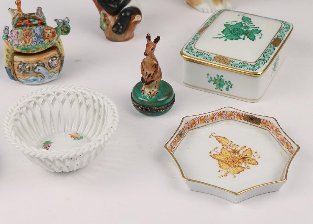 (13pc) COLLECTION OF HEREND AND OTHER - 5