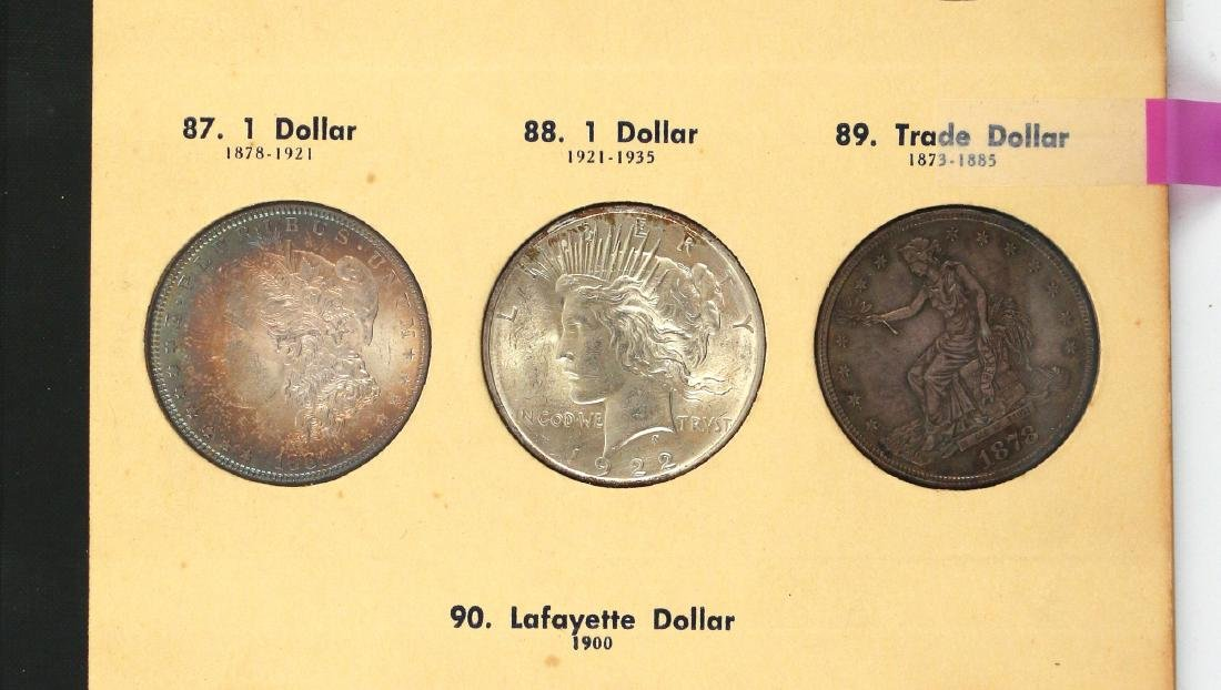 """(5pc) COINAGE """"LIBRARY OF COINS"""" PARTIALLY FILLED - 6"""
