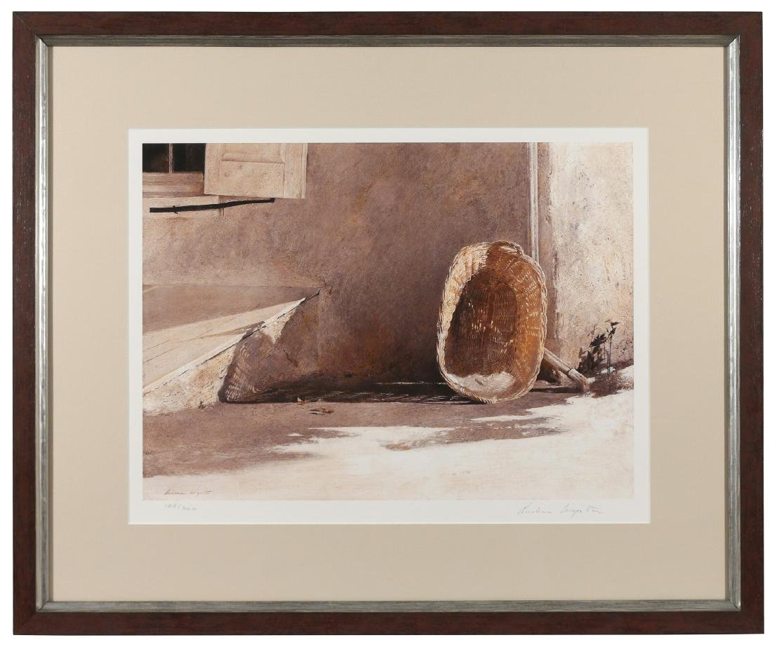 ANDREW WYETH SIGNED PRINT - 2
