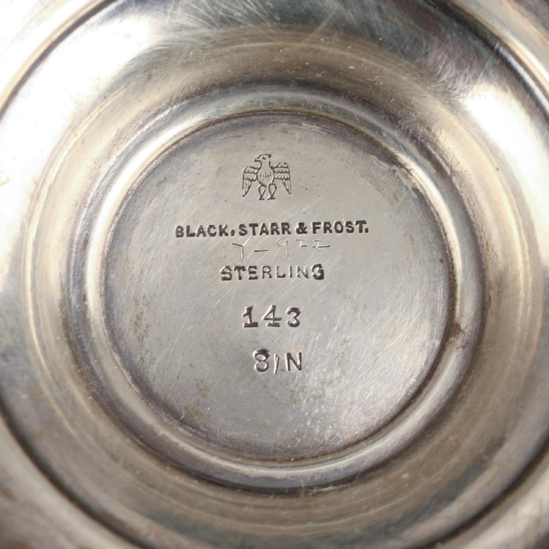 (2pc) STERLING VASE & BOWL - 2