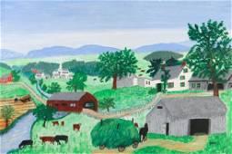 GRANDMA (ANNA ROBERTSON) MOSES (Amer., 1860-1961)