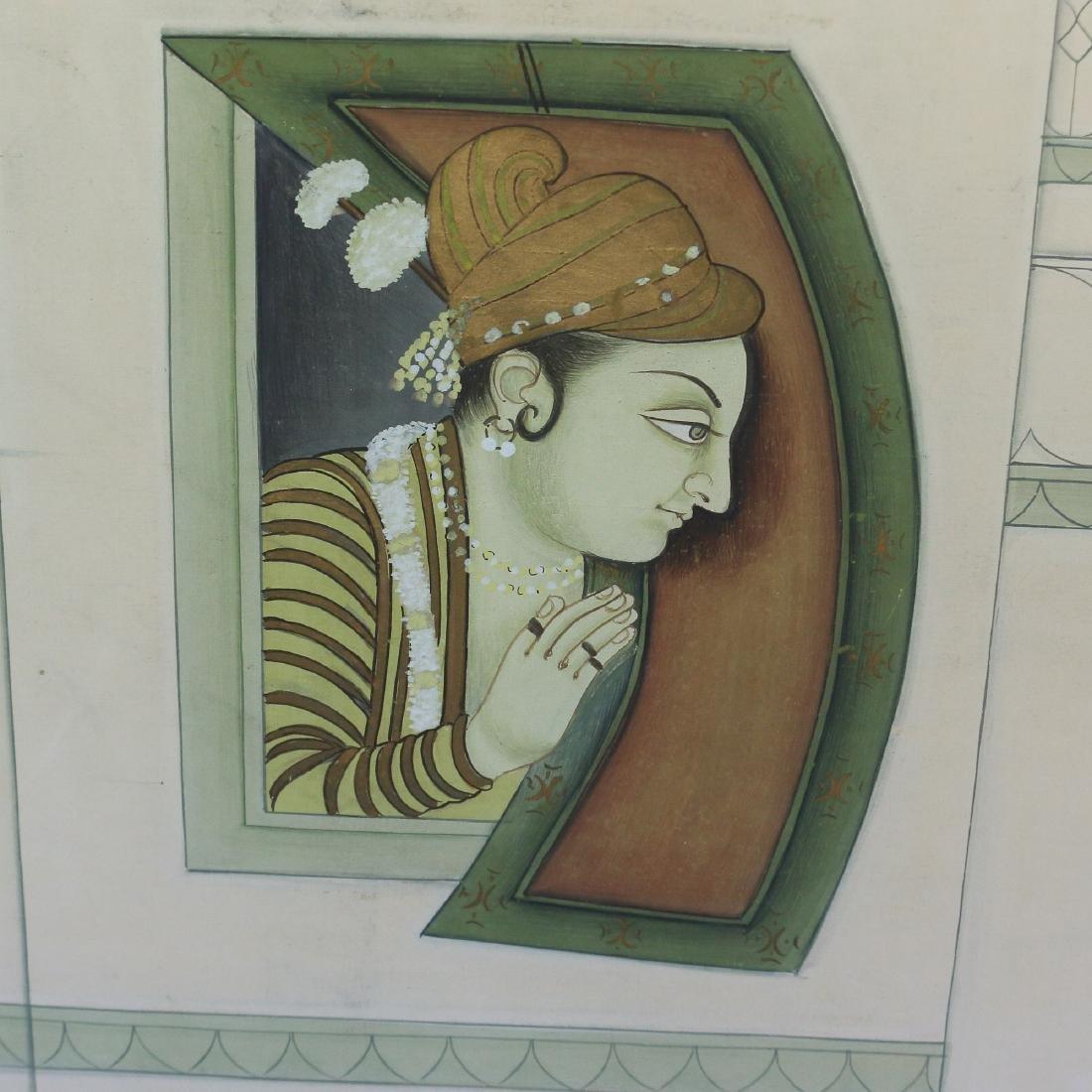 MONUMENTAL INDIAN MIXED MEDIA - 3