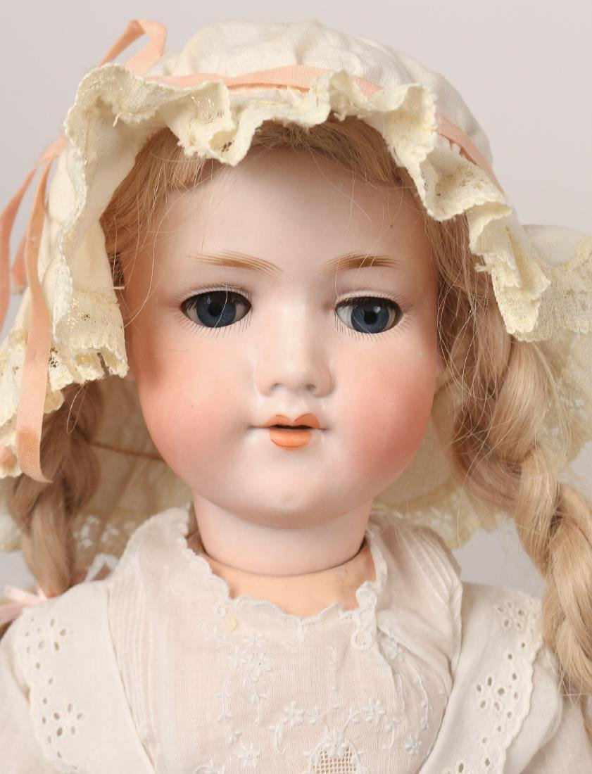 (6pc) BISQUE HEAD & OTHER DOLLS - 4
