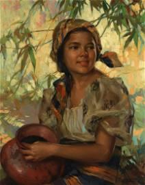 FERNANDO CUETO AMORSOLO (Filipino, 1892-1972)