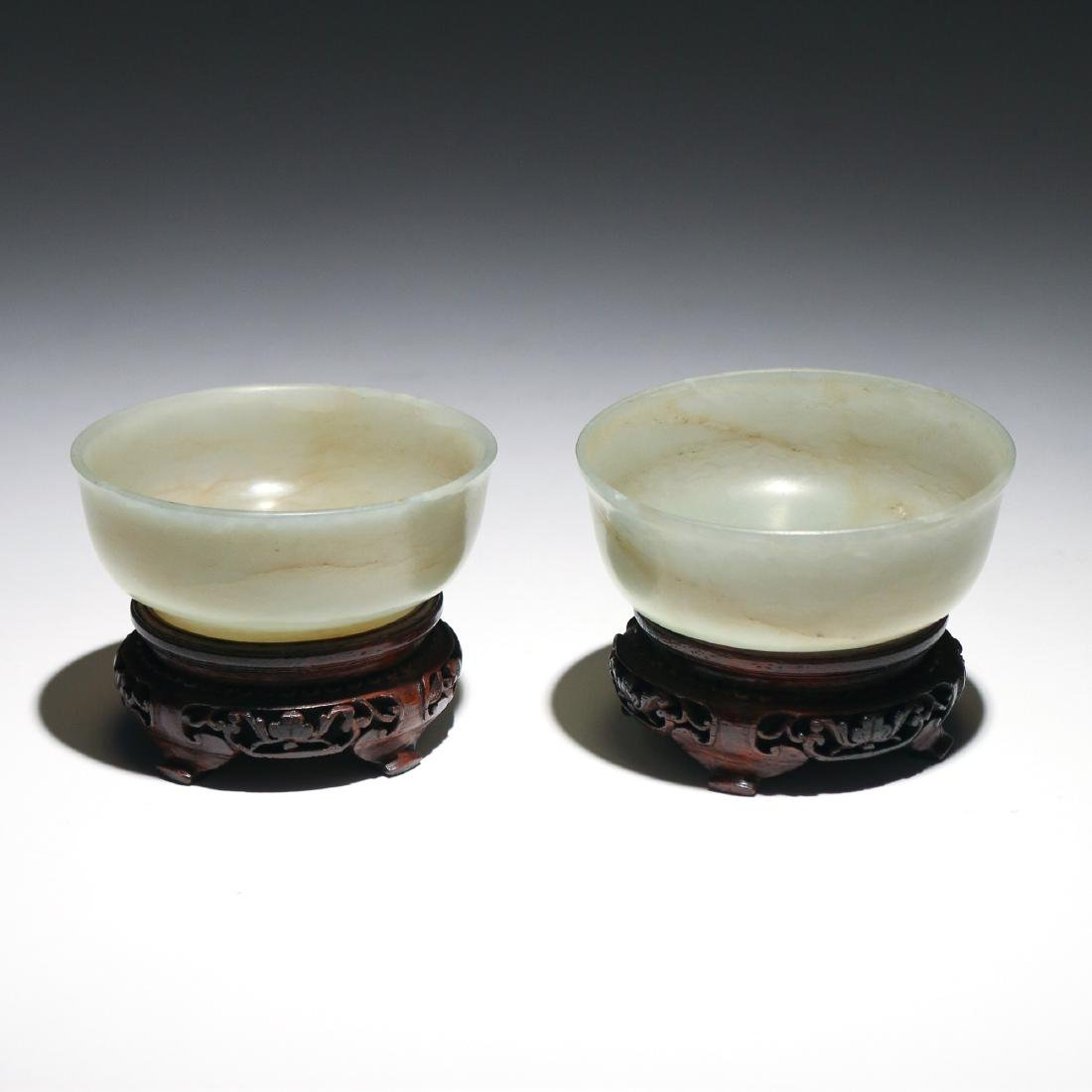 (3pc) CHINESE JADE TABLE ITEMS - 2