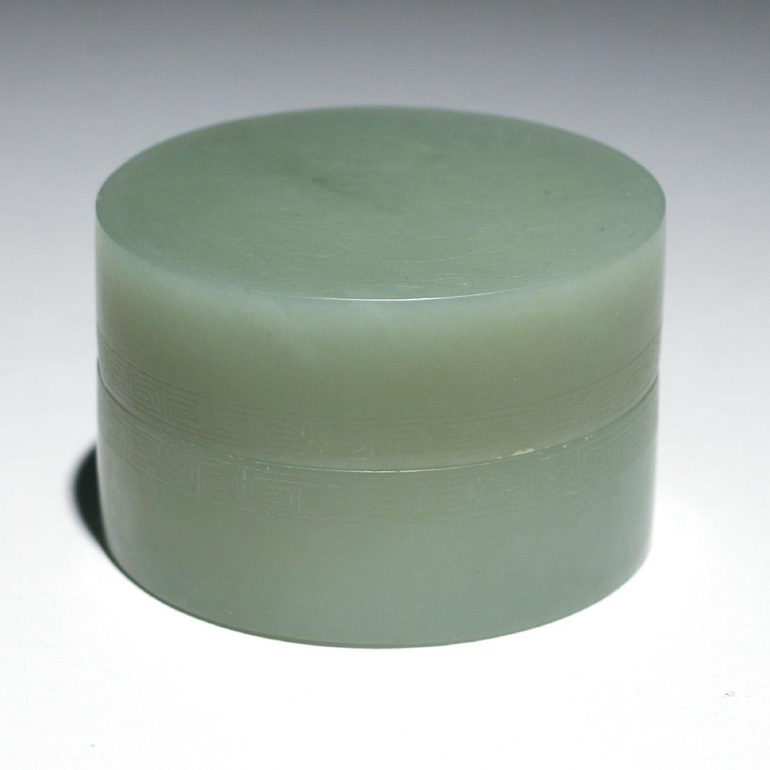 (3pc) CHINESE JADE TABLE ITEMS - 3