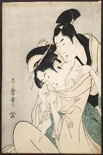 KITAGAWA UTAMARO (Japanese, 1753-1806),
