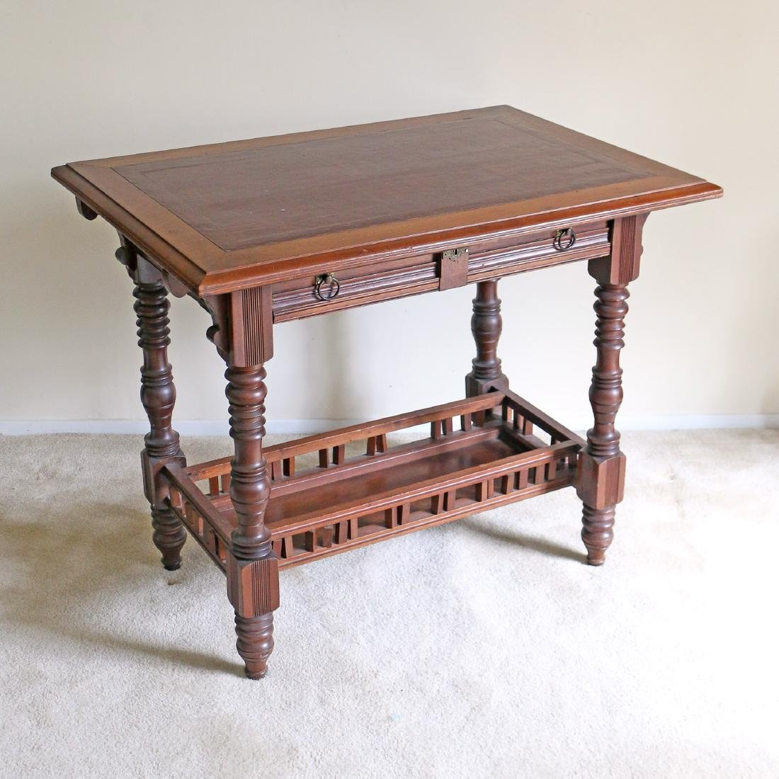 ARTS & CRAFTS LADY'S WRITING TABLE