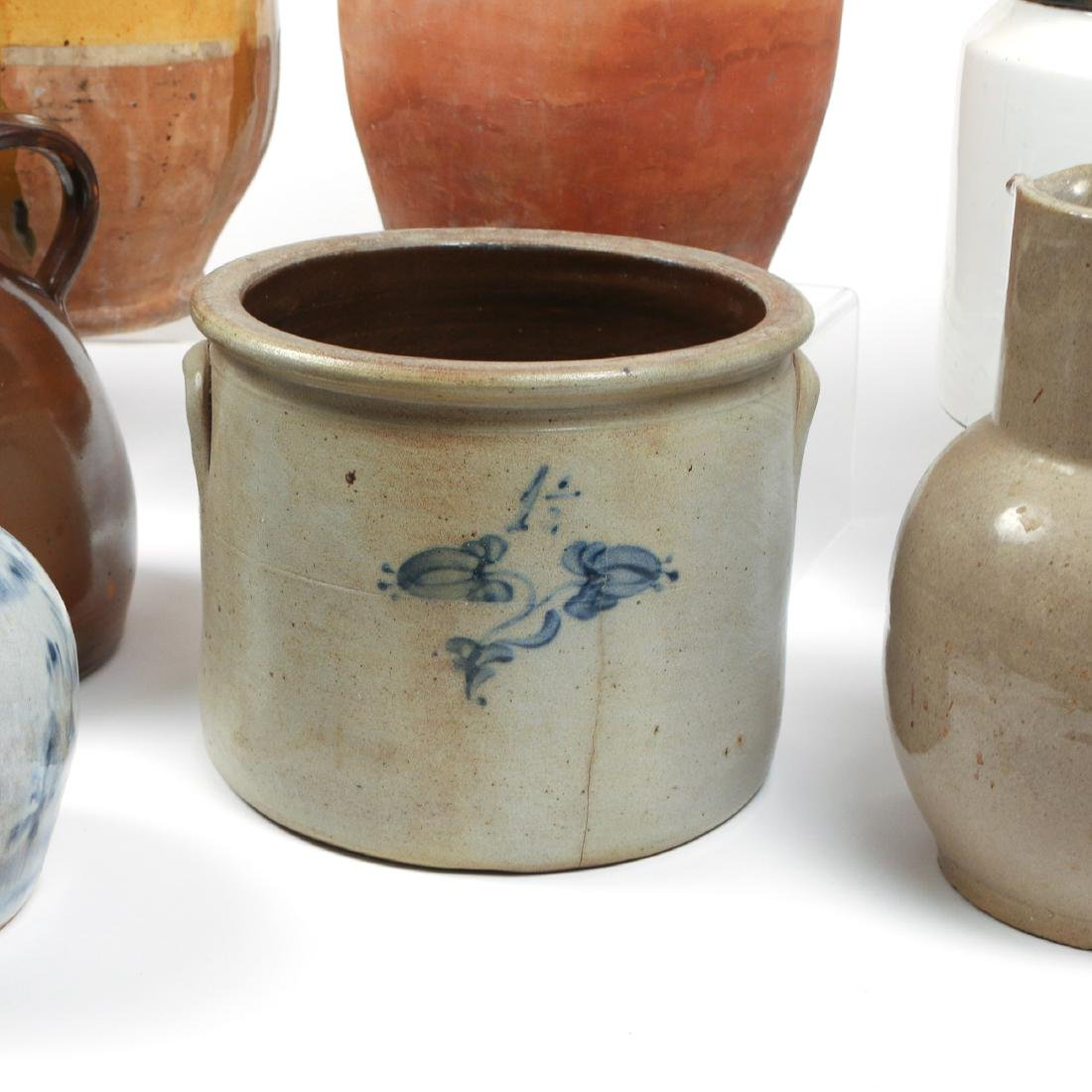 (10pc) MISC. LOT OF AMERICAN STONEWARE - 8