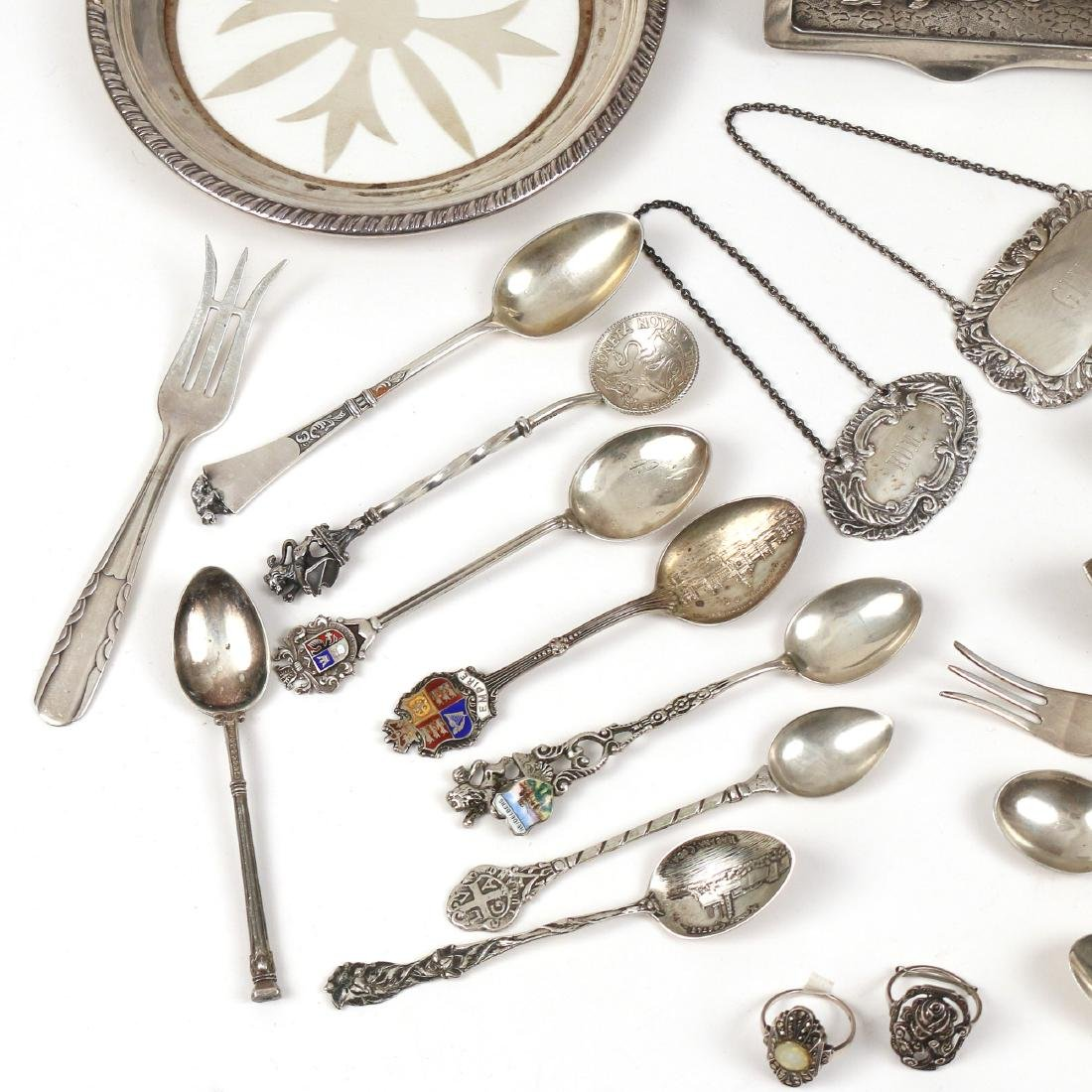 MISC. STERLING & 800 SILVER FLATWARE & OTHER - 2
