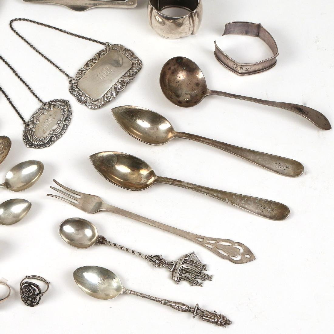 MISC. STERLING & 800 SILVER FLATWARE & OTHER - 4