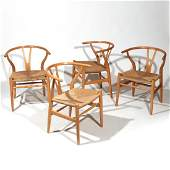 (4pc) HANS WEGNER ARMCHAIRS