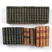 (32vols) [POETRY] LEATHER-BOUND SETS: