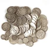 COLLECTION 20th CENTURY AMERICAN SILVER COINS