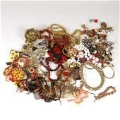 LARGE COLLECTION COSTUME JEWELRY