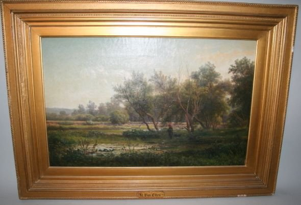 216A) HENDRIK D. VAN KRUSEMAN ELTEN Painting O/C