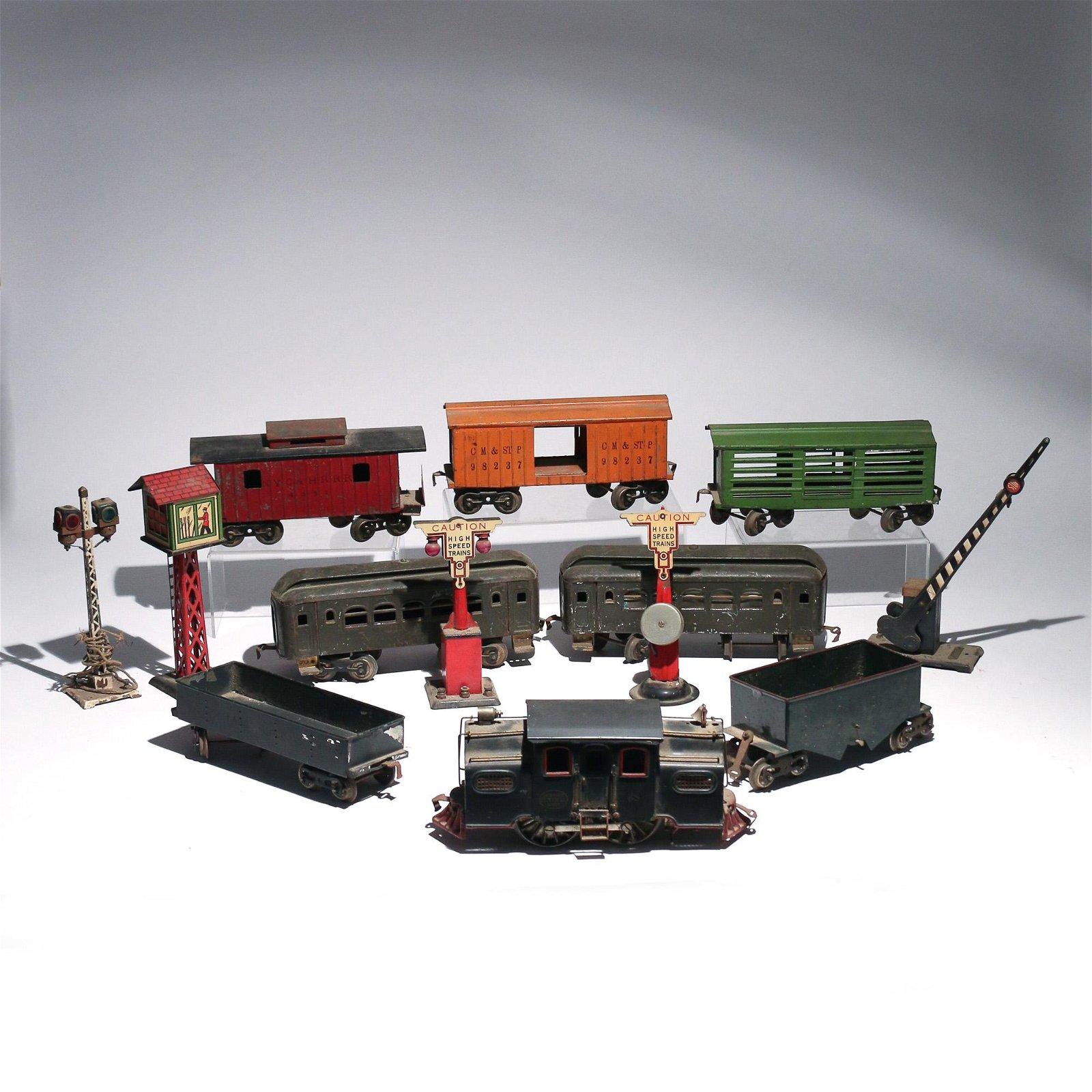 (13pc) LIONEL NY CENTRAL LINES TRAIN
