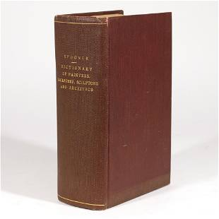 SPOONER DICTIONARY OF PAINTERS