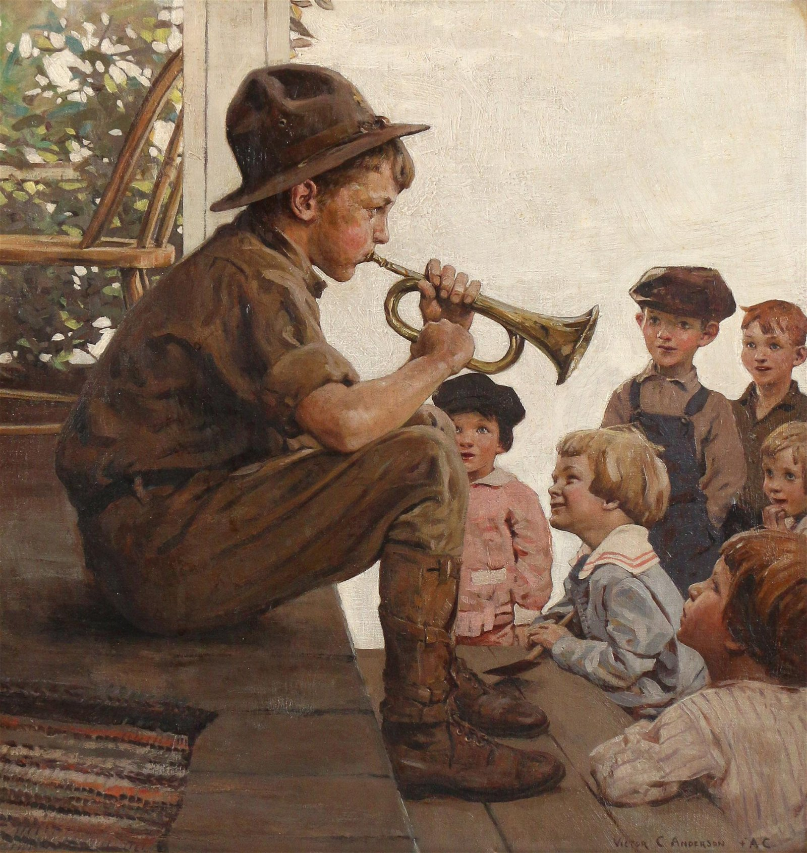 VICTOR COLEMAN ANDERSON (American, 1882-1937)