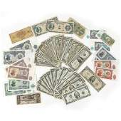 (58pc) PAPER CURRENCY