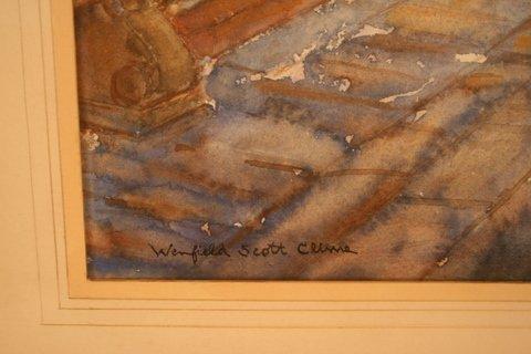 69: WINFIELD SCOTT CLIME ( AMER. 1881-1958 WATERCOLOUR, - 2