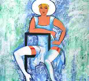"MIRIAM ""MIMI"" SCHAPIRO (American, 1923-2015)"
