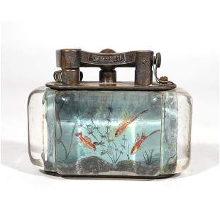 1950s DUNHILL AQUARIUM LIGHTER