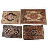 (4pc) HAMADAN rugs