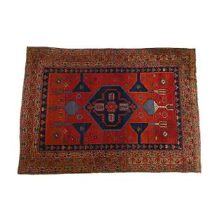 KAZAK SALAKHLY RUG, LATE 19th/EARLY 20th CENTURY