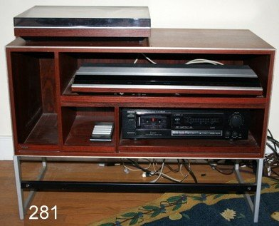 281) BANG & OLUFSEN RECEIVER, BEOMASTER 2400-2 &