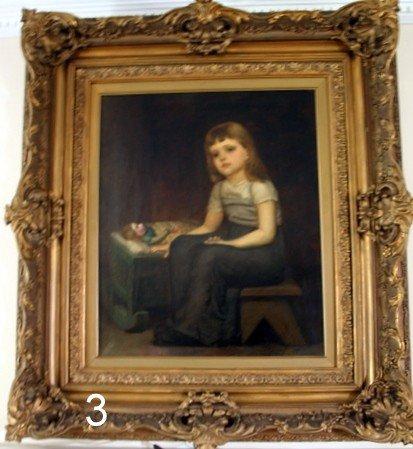 3) FERDINAND SCHUCHARDT, JR. (GERMAN, 1855- ) O/C