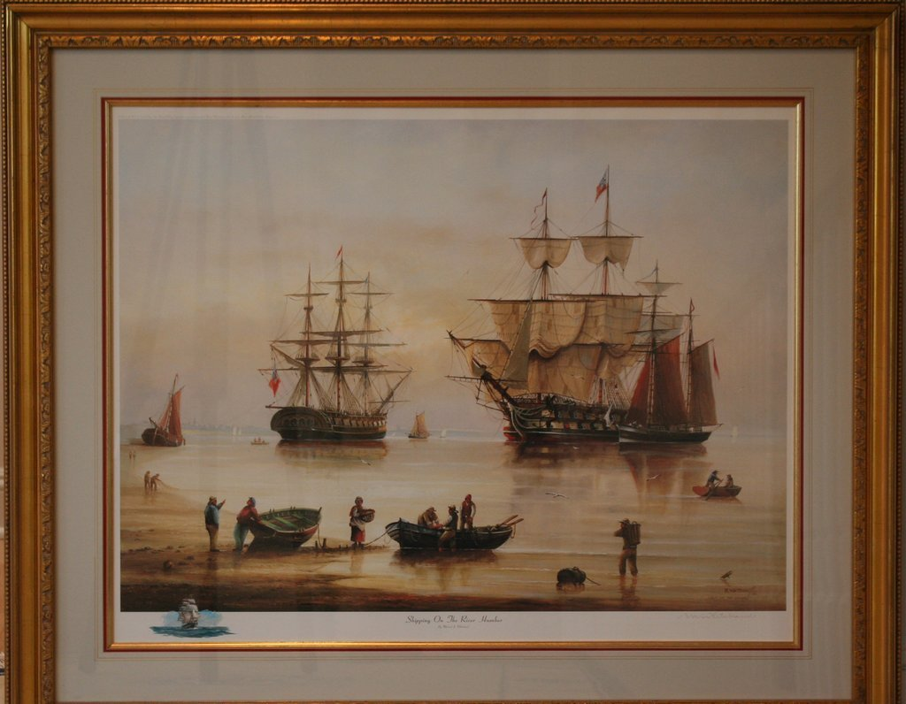 14) 2 NAUTICAL COLORED PRINTS: John Stobart