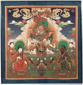 CHINESE BUDDHIST MYTHOLOGICAL PAINTING
