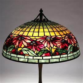 TIFFANY STUDIOS 'POINSETTIA' LAMP SHADE