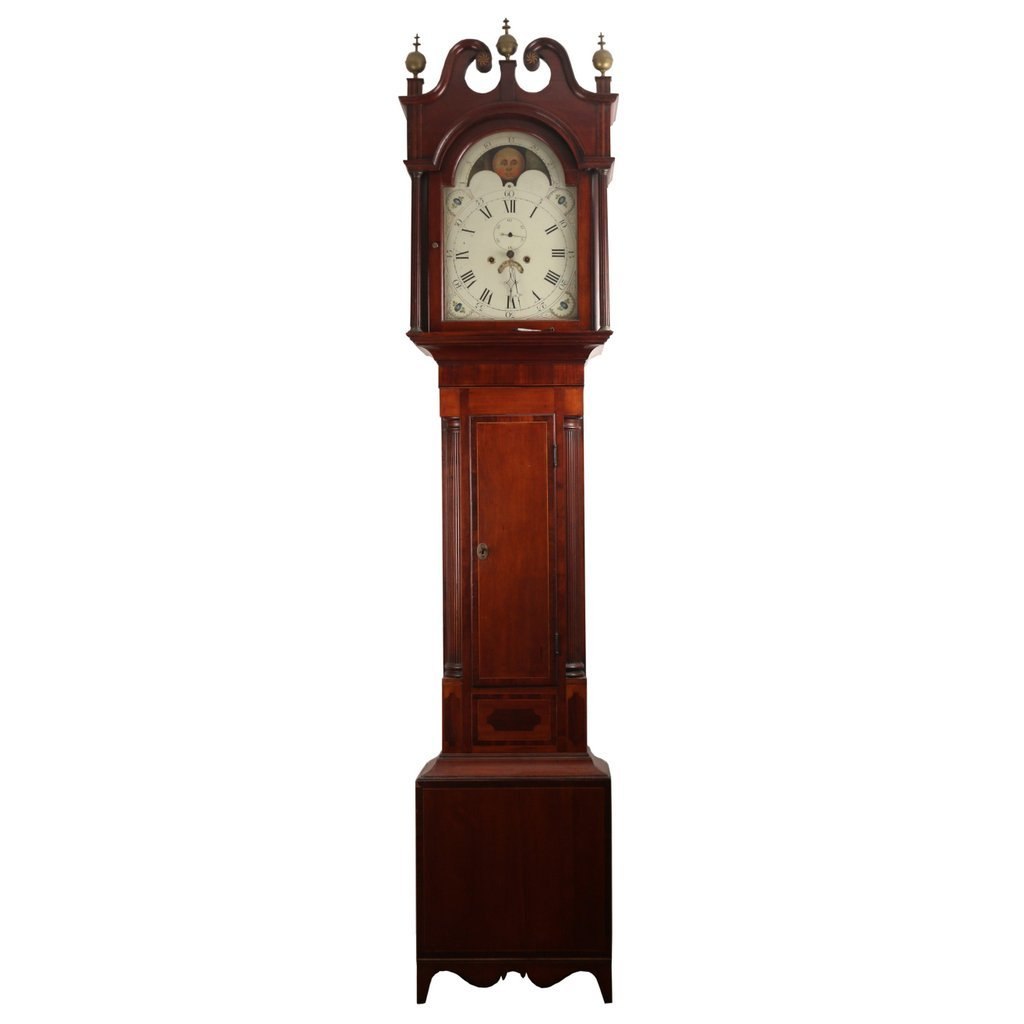 AMERICAN FEDERAL TALL CASE CLOCK