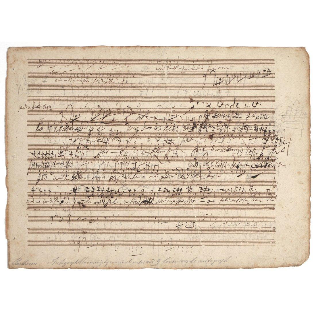 (2pc) BEETHOVEN, LUDWIG VAN (1770-1827)