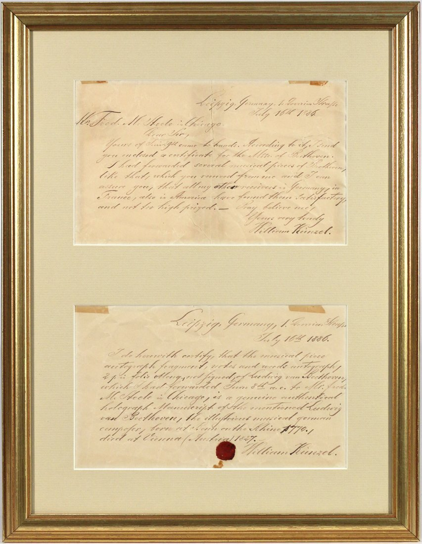 (2pc) BEETHOVEN, LUDWIG VAN (1770-1827) - 2