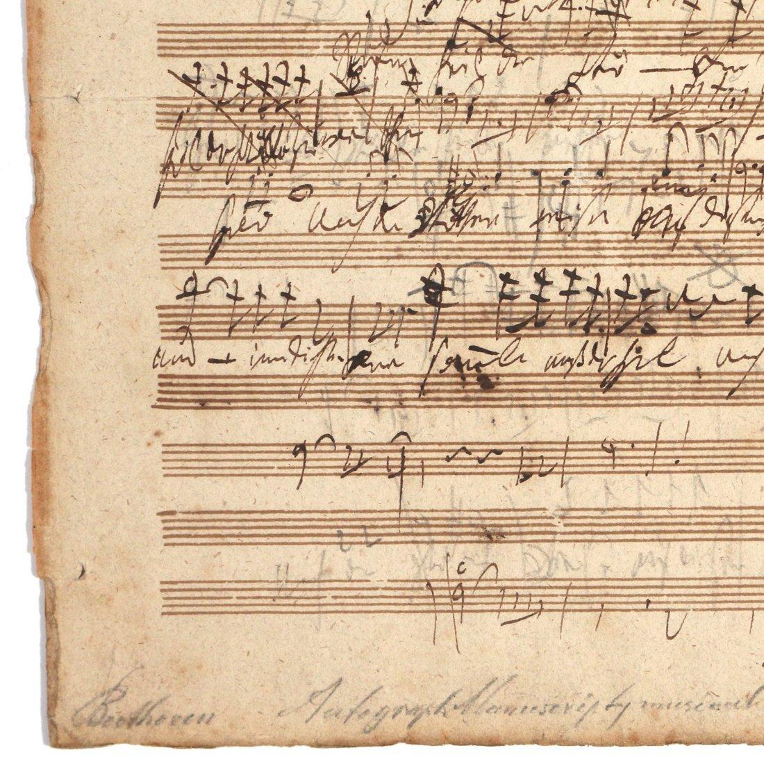 (2pc) BEETHOVEN, LUDWIG VAN (1770-1827) - 3